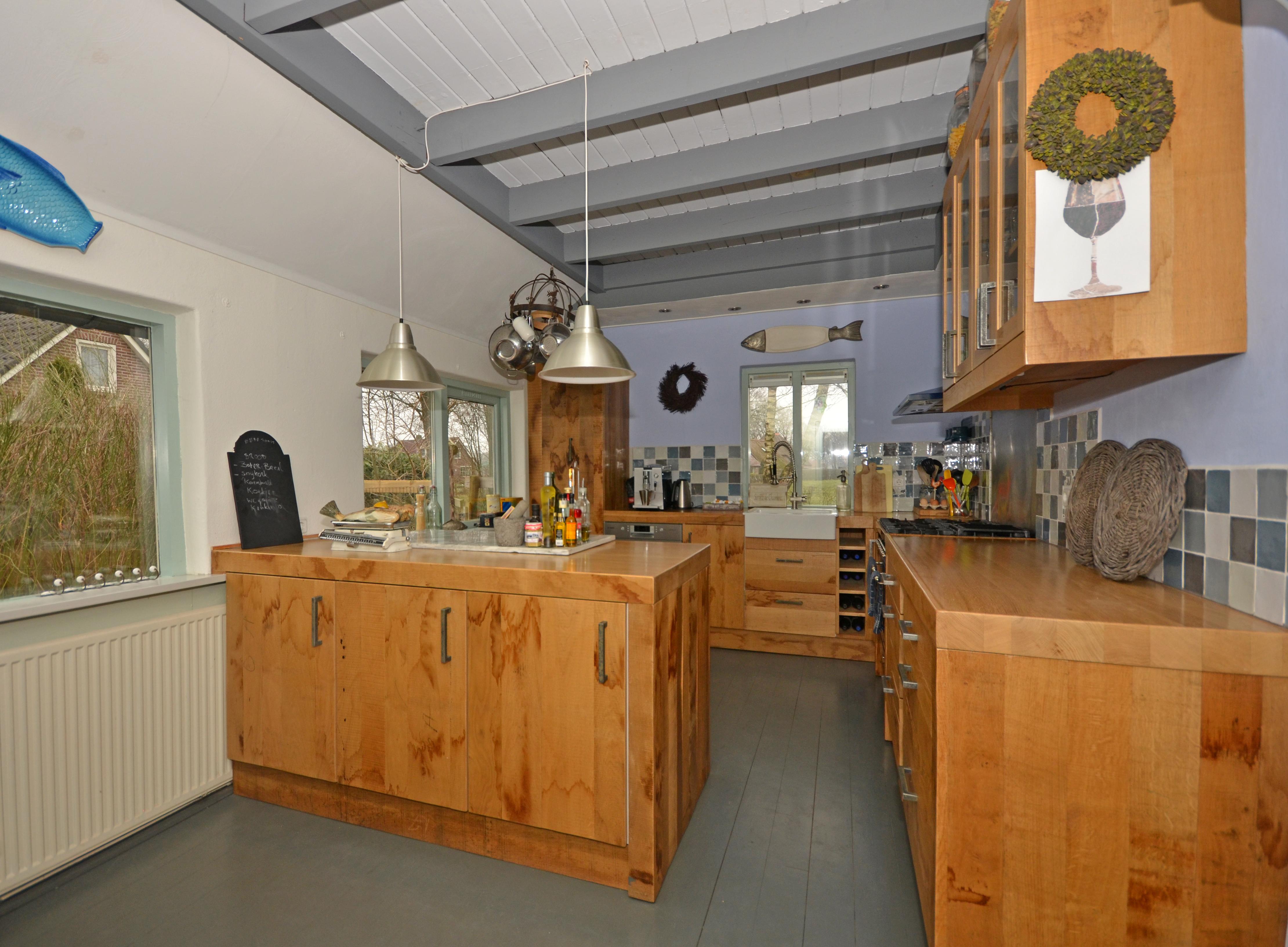 Eiken Keuken Planken : Ruw eiken keuken · Meubelmakerij Mark