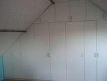 Meubelmakerij Mark inbouwkast op zolder1