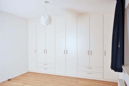 inbouw kledingkast op de slaapkamer 183 meubelmakerij mark