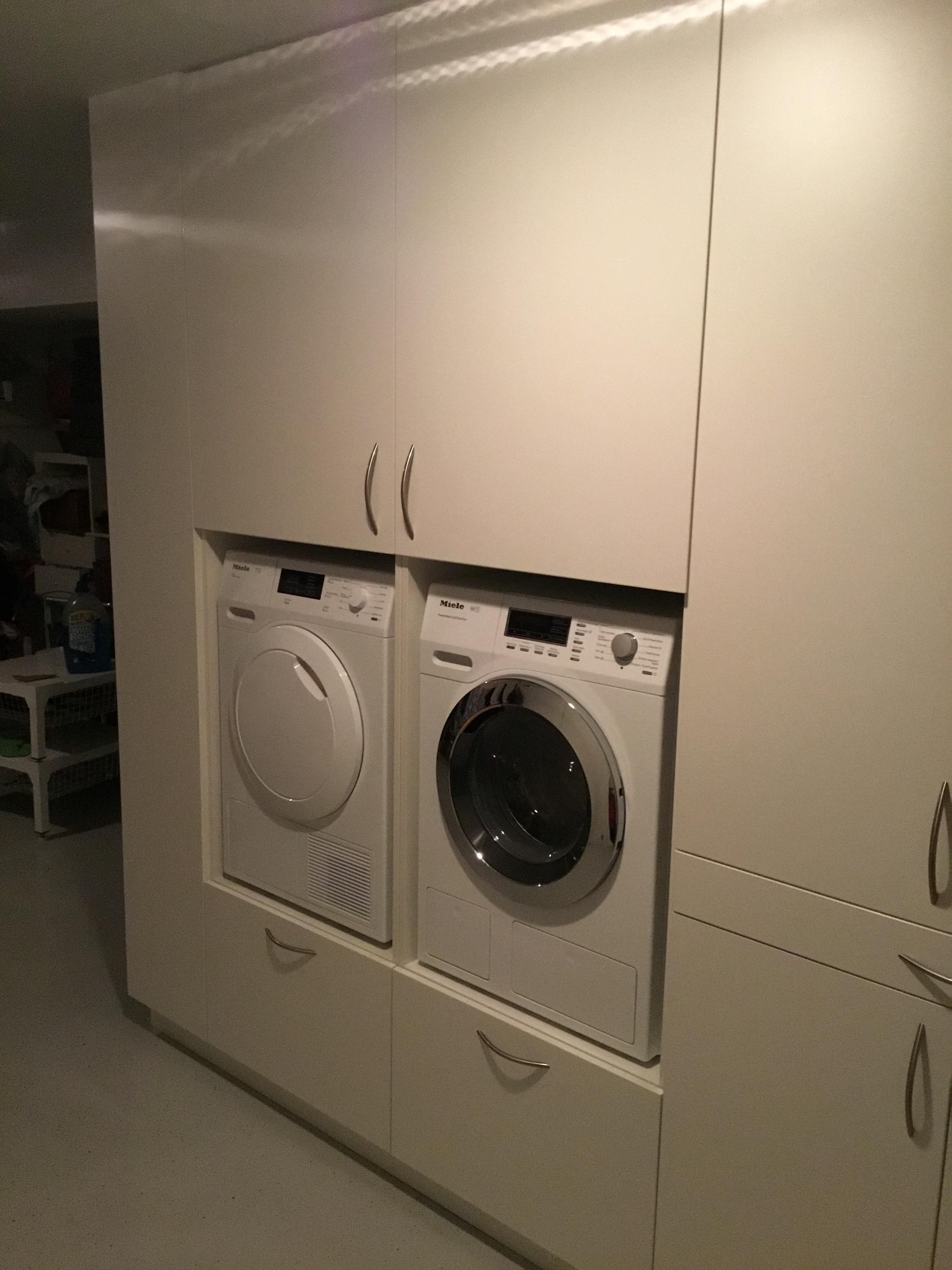 Wasmachinekast Bijkeuken Meubelmakerij Mark